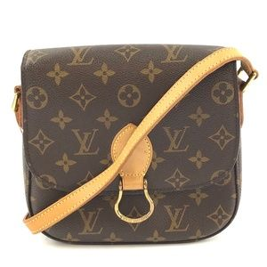 Shoulder Messenger  Monogram Canvas Cross Body Bag